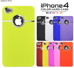 iPhone4専用カラーハードケース(wm-643) スマホケース☆iPhone4(SoftBank)対応ケースの画像