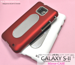 GALAXY S II用ミラーハードケース(wm-650) スマホケース☆docomo GALAXY S II SC-02C対応ケースの画像
