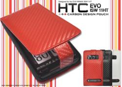 HTC EVO WiMAX ISW11HT用カーボンデザインケース(wm-652)スマホケース☆au HTC EVO WiMAX ISW11HT対応スマホケースの画像