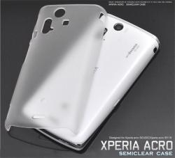 Xperia acro SO-02C/IS11S用セミクリアケース(wm-624b0-c2cl)スマホケース☆docomo Xperia acro SO-02C/au Xperia acro IS11S対応の画像
