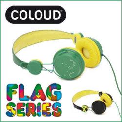 COLOUD FLAG SERIES C22M ヘッドフォン☆ヘッドホンで、響きが変わる!COLOUDの高機能多色ヘッドフォンの画像