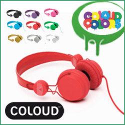 COLOUD COLORS C19M ヘッドフォン☆ヘッドホンで、響きが変わる!COLOUDの高性能多色ヘッドフォンの画像