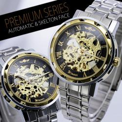 フルスケルトン自動巻き腕時計AC-W-L