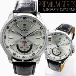 ビッグフェイス自動巻き腕時計AC-W-BCG21SV【シルバー】☆シンプルながらインパクト大なビッグフェイスの画像