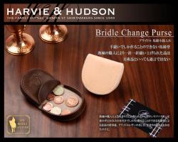 Harvie and Hudsonハービーアンドハドソン チェンジパース馬蹄型小銭入れ HA-1008☆伝統ある英国の老舗ハービー&ハドソンの画像