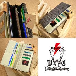 BLAQ CLOUD(ブラック クラウド)ラウンドファスナーロングウォレット XBC-010038☆日本製ソフト牛革を使用したメンズ長財布の画像