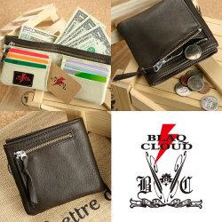 BLAQ CLOUD(ブラック クラウド)ソフトレザービルフォールドショートウォレット XBC-010048☆日本製ソフト牛革を使用したメンズ短財布の画像