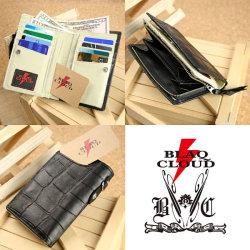 BLAQ CLOUD(ブラック クラウド)ソフトレザービルフォールドショートウォレット XBC-010058☆日本製ソフト牛革を使用したメンズ長財布の画像