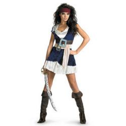 パイレーツ・オブ・カリビアン  ジャック・スパロウ Sassy☆ハロウィンコスプレ ハロウィンパーティーコスチューム(ディズニー)の画像
