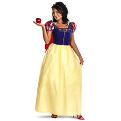 白雪姫 Snow White Deluxe  (大人用:女性)【送料無料】☆ハロウィンコスプレ ハロウィンパーティーコスチューム(ディズニー)の画像