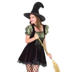 ウイッチ グリーン WITCH GREEN(PW-20593S)☆ハロウィンコスプレ ハロウィンパーティーコスチュームの画像