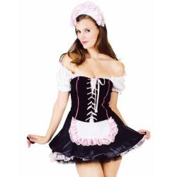フレンチ メイド French Maid(PW-20555S)☆ハロウィンコスプレ ハロウィンパーティーコスチュームの画像