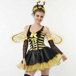 ハニー ビー HONEY BEE(PW-20563S)☆ハロウィンコスプレ ハロウィンパーティーコスチュームの画像