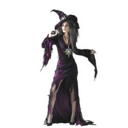 Deluxe 大人用 Costumes Sorceress(PW-21120S)☆ハロウィンコスプレ ハロウィンパーティーコスチュームの画像