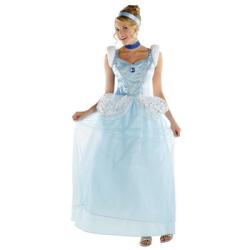 シンデレラ Cinderella Deluxe 大人用(PW-22001S)【送料無料】☆ハロウィンコスプレ ハロウィンパーティーコスチュームの画像