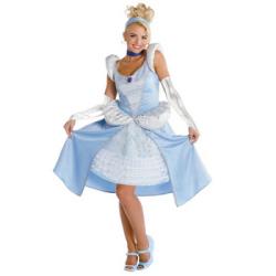 シンデレラ Cinderella Sassy 大人用 【送料無料】☆ハロウィンコスプレ ハロウィンパーティーコスチューム(ディズニー)の画像