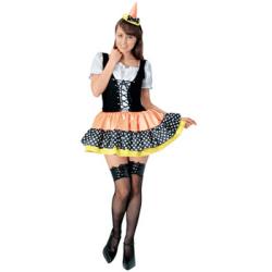 rubies 95131 Std キャンディーウィッチ (大人用)PW-21477S☆ハロウィンコスプレ ハロウィンパーティーコスチュームの画像