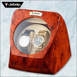 木目調高級ウォッチワインダー(マブチモーター使用 )一度に2本の腕時計が巻き上げ可能!の画像