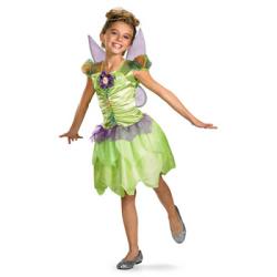 ティンカーベル Rainbow Classic(ディズニー)☆ハロウィン仮装 子供用コスプレ キッズサイズの画像