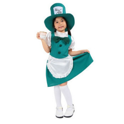 キッズ ハッターガール☆ハロウィン仮装 子供用コスプレ キッズサイズの画像
