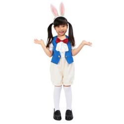 キッズ 時計ウサギ☆ハロウィン仮装 子供用コスプレ キッズサイズの画像