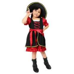 キッズ パイレーツガール☆ハロウィン仮装 子供用コスプレ キッズサイズ(ディズニー)の画像