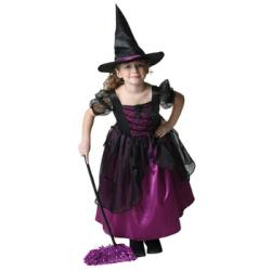 メロディドレス(パープル)☆ハロウィン仮装 子供用コスプレ キッズサイズの画像