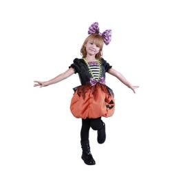HW-11 ガーリーパンプキン☆ハロウィン仮装 子供用コスプレ キッズサイズの画像