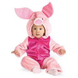 くまのプーさん ピグレット Toddler Deluxe Plush☆ハロウィン仮装 子供用コスプレ キッズサイズ(ディズニー)の画像