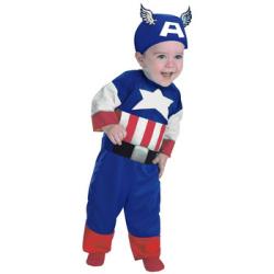 キャプテンアメリカ Infant☆ハロウィン仮装 子供用コスプレ キッズサイズの画像