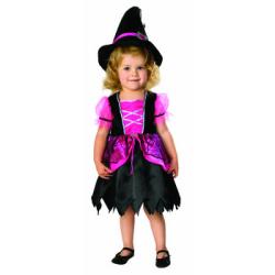 885414T Pretty & Pink Witch☆ハロウィン仮装 子供用コスプレ キッズサイズの画像