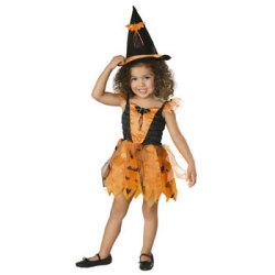 885413 Tod ハロウィンウィッチ☆ハロウィン仮装 子供用コスプレ キッズサイズの画像