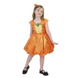 802238 パンプキン プリンセス☆ハロウィン仮装 子供用コスプレ キッズサイズの画像