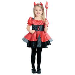 802242 プリティーデビル☆ハロウィン仮装 子供用コスプレ キッズサイズの画像