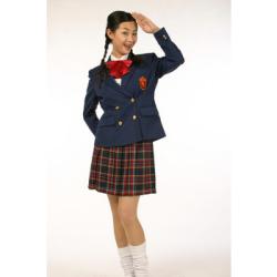 女学院 (紺/メンズ)PW-32865S☆イベントやパーティーに!男性用女装コスチュームの画像