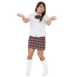 イケイケスクールガールMAN(PW-39794S)☆イベントやパーティーに!男性用女装コスチュームの画像