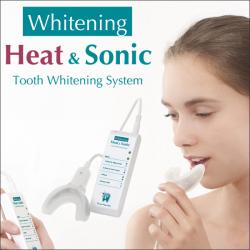 デンタルホワイトプロ ヒート&ソニック☆温熱を利用してホワイトニング効果を促しますの画像