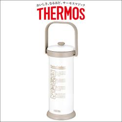 サーモス 真空断熱パスタクッカー KJA-2000☆常識を超えた真空断熱技術を使った保温調理の画像