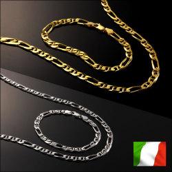 イタリア製フィガロマリーナ ネックレス&ブレスレットの画像
