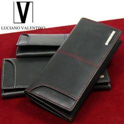 LUCIANO VALENTINO カラーステッチ カードスライダー長財布☆カードスライダー機能を搭載!メンズ長財布の画像