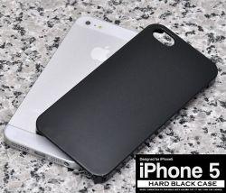 iPhone5専用ハードブラックケースip5-2001bk☆iPhone5専用スマホケース・スマホカバーの画像