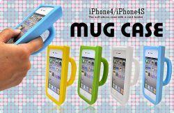iPhone4/iPhone4S用マグカップ型シリコンケースip4s-5001☆iPhone4・iPhone4S専用スマホケース・スマホカバーの画像
