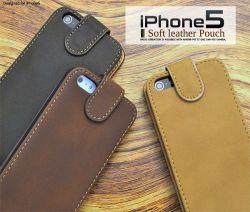 iPhone5専用 ソフトレザーケースポーチ ip5-5002☆iPhone5用スマホケース スマホカバーの画像