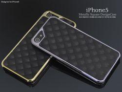 iPhone5用メタリックスクウェアデザインケースip5-6004☆iPhone5用スマホケース・スマホカバーの画像
