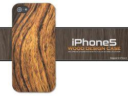 iPhone5専用ウッドデザインケースip5-3015☆iPhone5用スマホケース・スマホカバーの画像