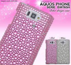 AQUOS PHONE SERIE ISW16SH用デコケースaisw16sh-05☆au AQUOS PHONE SERIE ISW16SH専用スマホケース・スマホカバーの画像