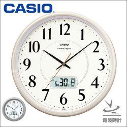 カシオ CASIO 電波掛け時計 IC-1001J-9JF/IC-1010J-8JF☆の画像