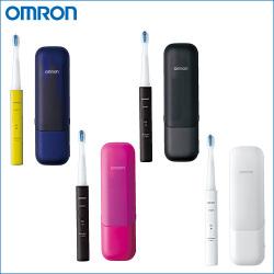 オムロン 音波式電動歯ブラシ メディクリーン HT-B601☆USB充電が可能なモバイルケース付きの画像