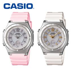 カシオ CASIO 電波ソーラー腕時計 LWA-M142-4AJF LWA-M142-7AJF☆カシオの女性用ソーラー電波時計!【送料無料】の画像