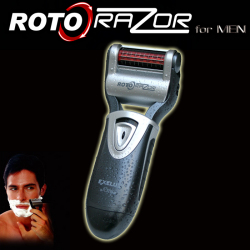 エグゼラックス ロトレーザー for Men☆しっかり剃れて、肌にやさしい、スウェーデン製刃を使用の画像